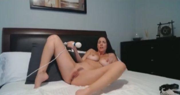 JelenaJensen Busty Pornstar Solo Masturbation