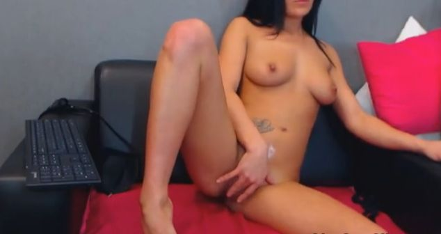IfYouWantMore Fingering Her Pussy On Private Cam