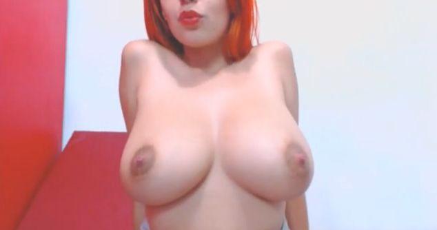 Busty CumOnMy18Tits Redhead 2